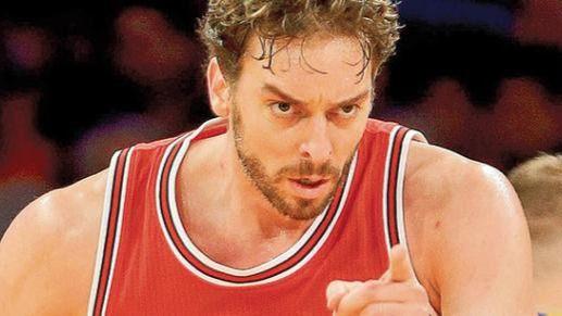 Adiós tercer anillo, adiós: nueva y definitiva derrota de los Bulls a pesar de un gran Pau Gasol