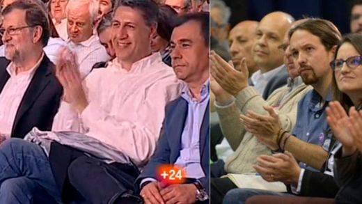 PP y Podemos hacen ya campaña mientras PSOE y C's buscan una salida a su pacto