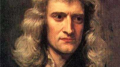 Retrato de Newton en 1689, por Godfrey Kneller