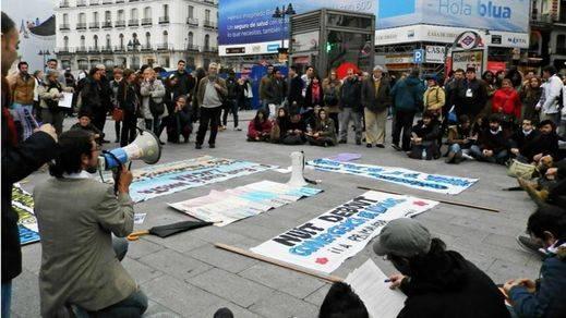 El movimiento 'Nuit Debout' reaviva la indignación española en Sol