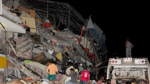 Terremoto de Ecuador: se eleva a 272 el número de muertos