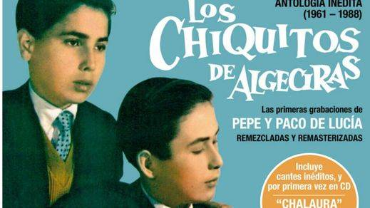 Eterno Paco de Lucía: Warner rescata sus primeras grabaciones, algunas inéditas, junto a su hermano Pepe