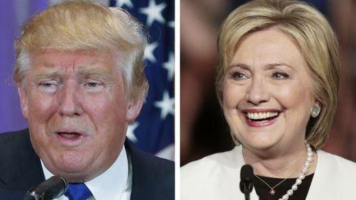 Trump y Hillary Clinton ensayan el 'alirón' en Nueva York