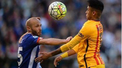 El Dépor paga los platos rotos y encaja una humillante y bochornosa goleada ante el Barça (0-8)