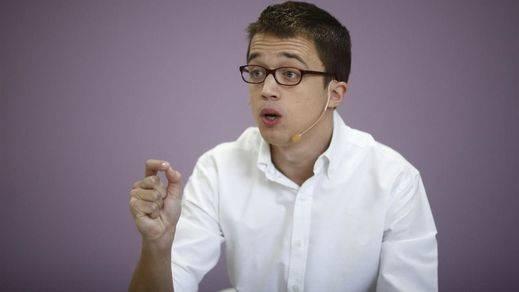 Errejón se niega a ceder puestos a Garzón en la lista por Madrid en caso de alianza Podemos-IU