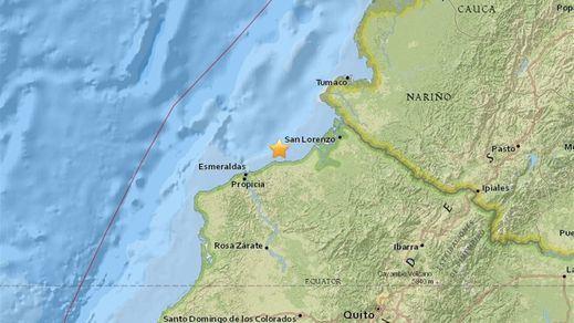Nuevo terremoto en Ecuador de magnitud 6 frente a la costa norte