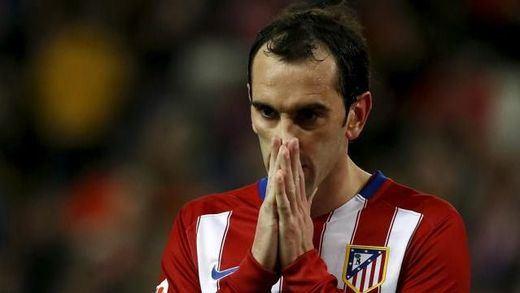 Del mal, el más: Godín se pierde los partidos ante el Málaga y ante el Bayern