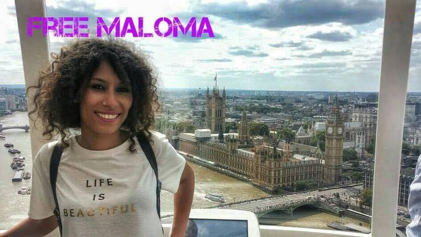 Final feliz 4 meses después: Maloma, liberada del secuestro al que la sometió su familia en el Sahara