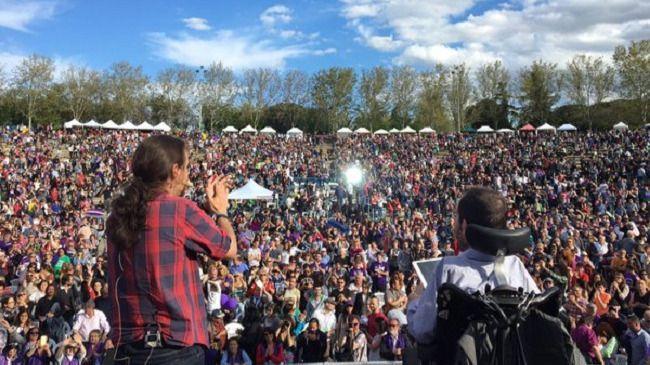 Iglesias promete generosidad con IU ante una posible confluencia: 'Por nosotros no será'