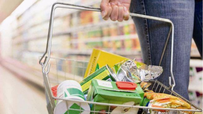Cesta de la compra sin gluten