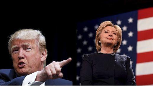 Trump y Clinton arrasan en las primarias en el 'supermartes del noreste'