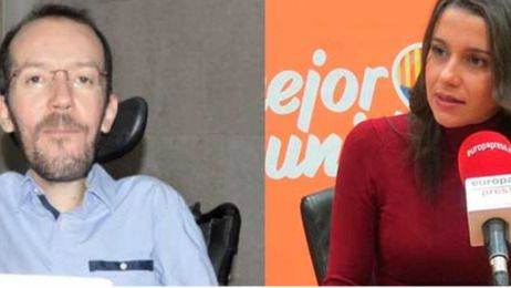 Cruce de acusaciones de 'plagio' entre Podemos y Ciudadanos por querer apuntarse el tanto de la austeridad