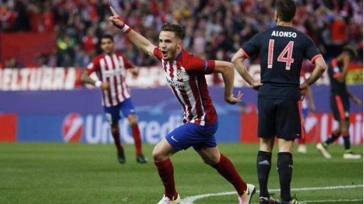 Una estocada de Saúl blinda a un Atlético que supo sufrir las embestidas de la maquinaria del Bayern (1-0)