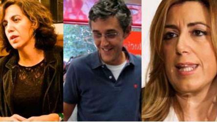 Chacón, Lozano, Madina y Susana Díaz