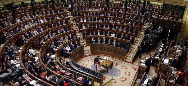 Debate de investidura de Pedro S�nchez en el Congreso