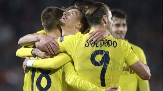 El fútbol español también cumple en la Liga Europa: buenos resultados para Sevilla ante el Shakhtar y Villarreal frente al Liverpool