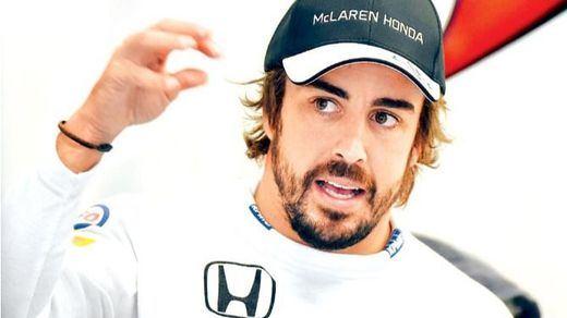 Un Fernando Alonso optimista