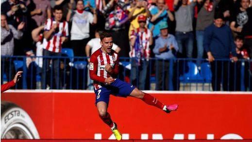 El Atlético tampoco pincha aunque sufrió mucho para derrotar a un Rayo muy respondón (1-0)