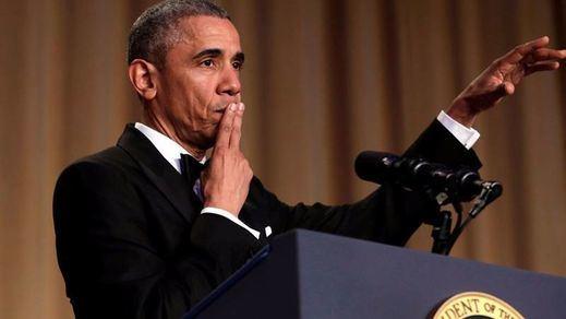 Obama se despide de la Casa Blanca con un 'mic drop'