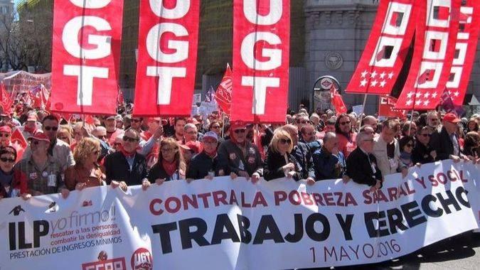 Toxo y Álvarez reclaman la derogación de las reformas laborales como Podemos, y que el PSOE rechaza