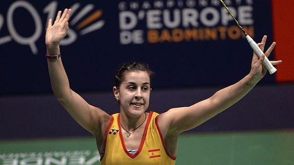 Badminton: Carolina Marín aumenta su leyenda con su segundo título europeo consecutivo