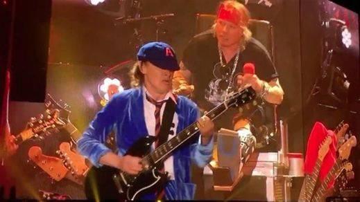 Los ensayos de Axl Rose con AC/DC antes de la gira, develados en Youtube
