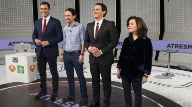 �Se atrever�n los candidatos a repetir los 'debatazos' de cara al 26-J?