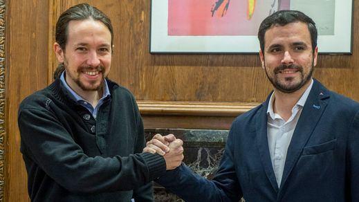 La obligada unión de IU y Podemos
