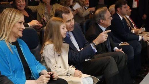 Al Madrid le tocó el debut de la infanta Sofía