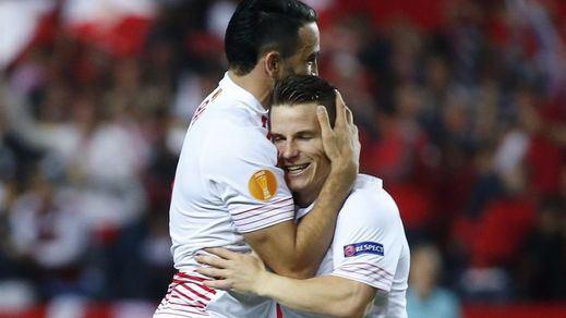 Olé por un Sevilla histórico: se mete en su tercera final consecutiva de la Liga Europa