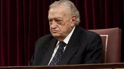 Fallece Fernando Álvarez de Miranda, el primer presidente del Congreso de la democracia