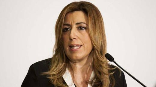 Susana Díaz se mofa de Podemos y su oferta para el Senado: