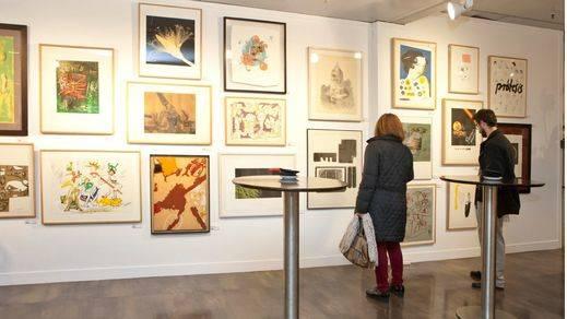 Espacio de las Artes celebra el 75 aniversario de El Corte Inglés con grabados al 25% de su precio