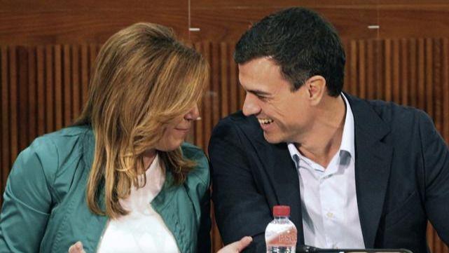Susana deja a Sánchez de pato cojo del PSOE