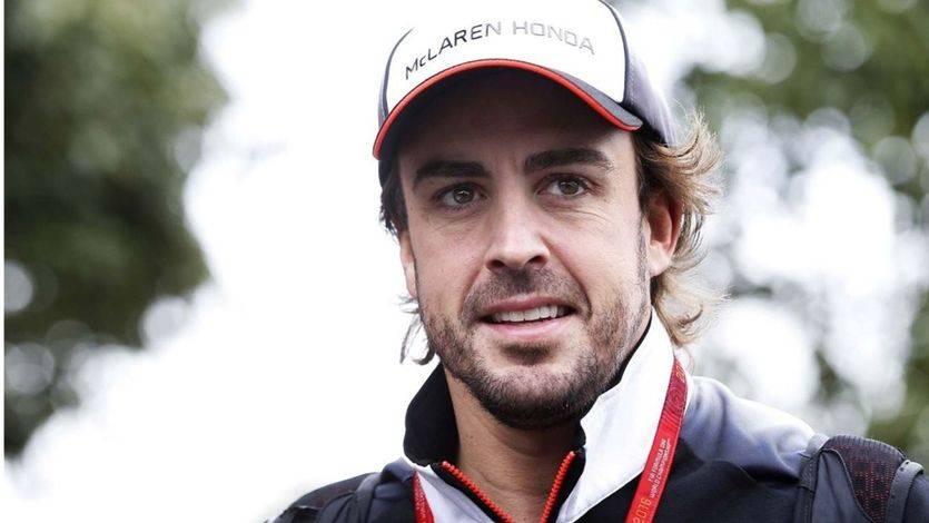 La gran novedad en el Gran Premio de España es que, por fin, Fernando Alonso se siente 'optimista'