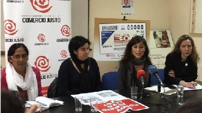 La Coordinadora de Comercio Justo pide mayor implicación ciudadana en la lucha contra la desigualdad y para lograr 'la justicia global'