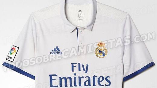Revolucionaria camiseta del Real Madrid para la próxima temporada, la 2016-2017