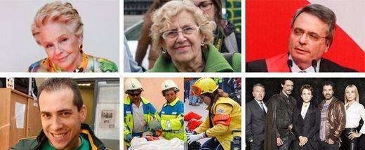 La alcaldesa del cambio, Manuela Carmena, encabeza la lista de los 'mejores' de Madrid