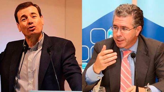 Tomás Gómez y Francisco Granados
