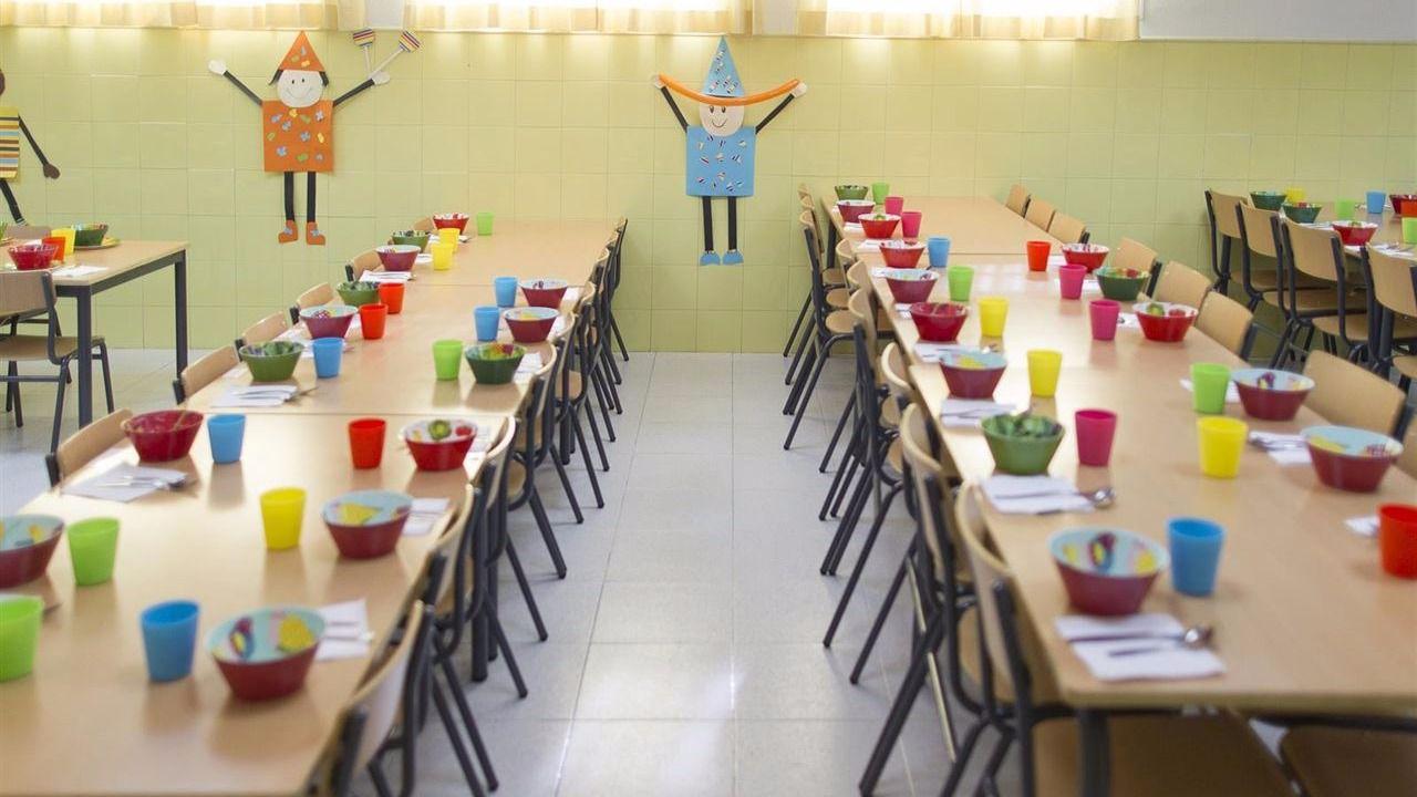 Acci n contra el hambre acerca el tratamiento contra la for Dibujo de comedor escolar