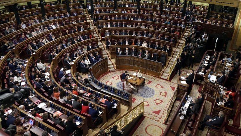 Debate de investidura de Pedro Sánchez en el Congreso
