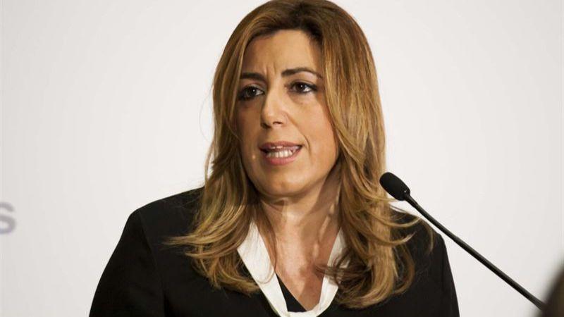 Nueva bomba de Susana Díaz en Madrid: insiste en que Sánchez tiene que ganar para ser presidente, sin apoyos de Podemos