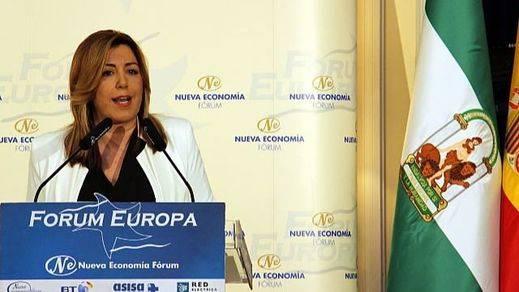 Madina, Carmona y ¡Cristina Cifuentes! arropan a Susana Díaz en su desembarco madrileño