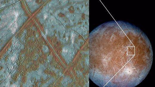 La luna Europa de Júpiter da esperanzas para la búsqueda de vida extraterrestre