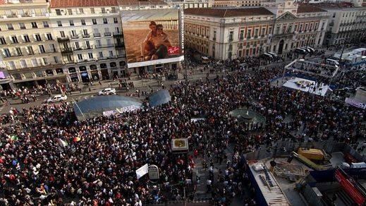 La Delegación del Gobierno en Madrid multa a los 'promotores' del aniversario del 15-M