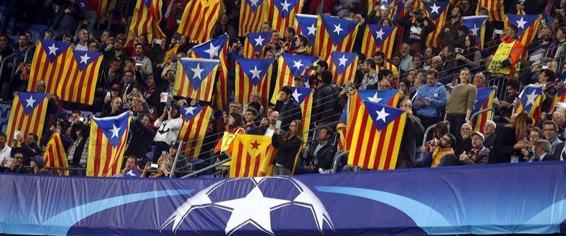 La Generalitat pasa la patata caliente del veto de las esteladas al Barça