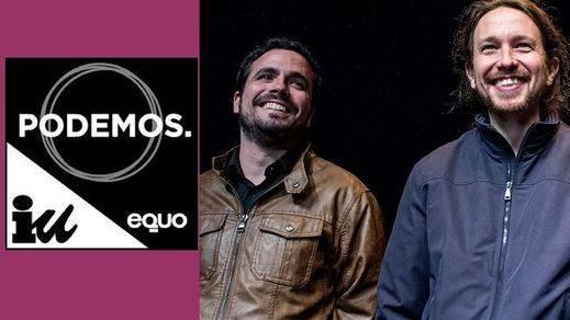 'Unidos Podemos' ya tiene logo, donde IU queda relegado al nivel de Equo