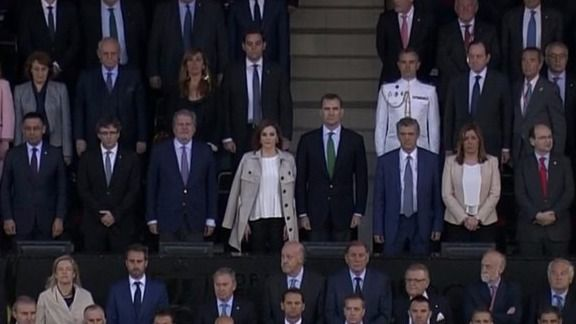 Copa del Rey: empate de pitos y aplausos y mucha indiferencia para una protesta desangelada