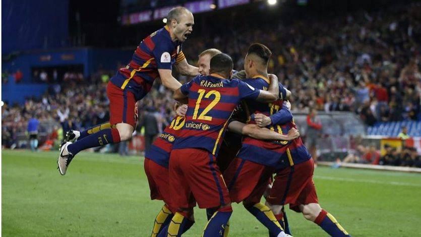 El Barça, más rey de Copas: supo sufrir antes de estoquear a un peleón Sevilla en la prórroga (2-0)