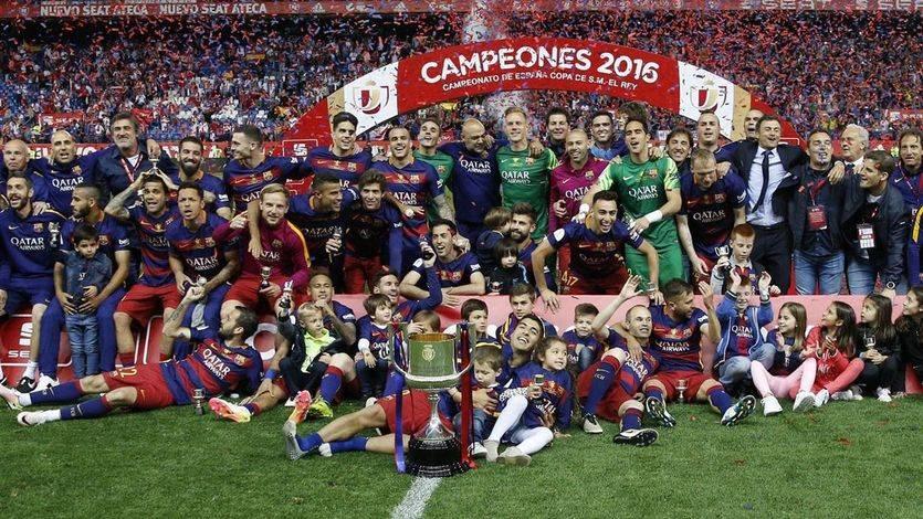 El Barça, más rey de Copas: supo sufrir antes de estoquear en la prórroga a un peleón Sevilla (2-0)